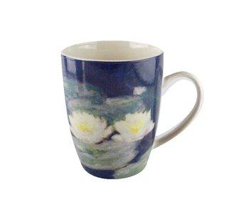 Mok, Monet, Waterlelies bij avondlicht
