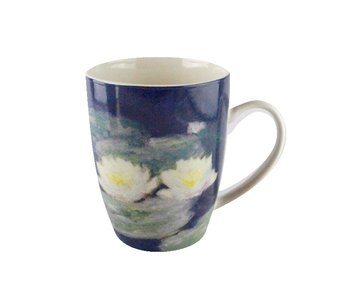 Mug,  Monet, Water Lilies in evening light