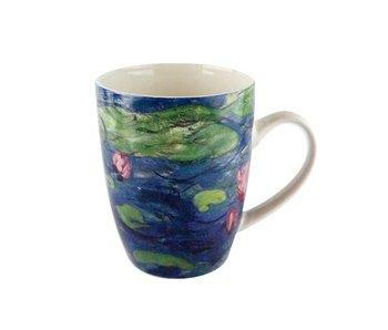Mug, Monet, Water Lilies