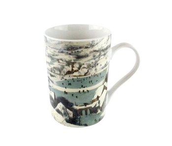 Mug, Bruegel, Hunters in the snow