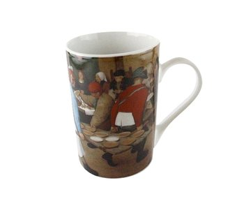 Taza, Boda campesina, Bruegel
