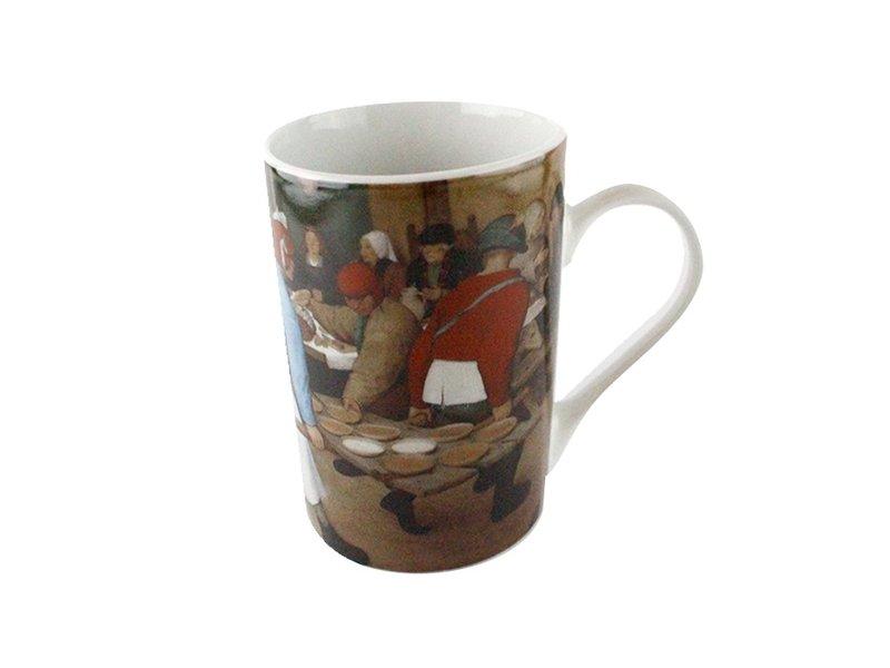 Becher, Bauernhochzeit, Bruegel