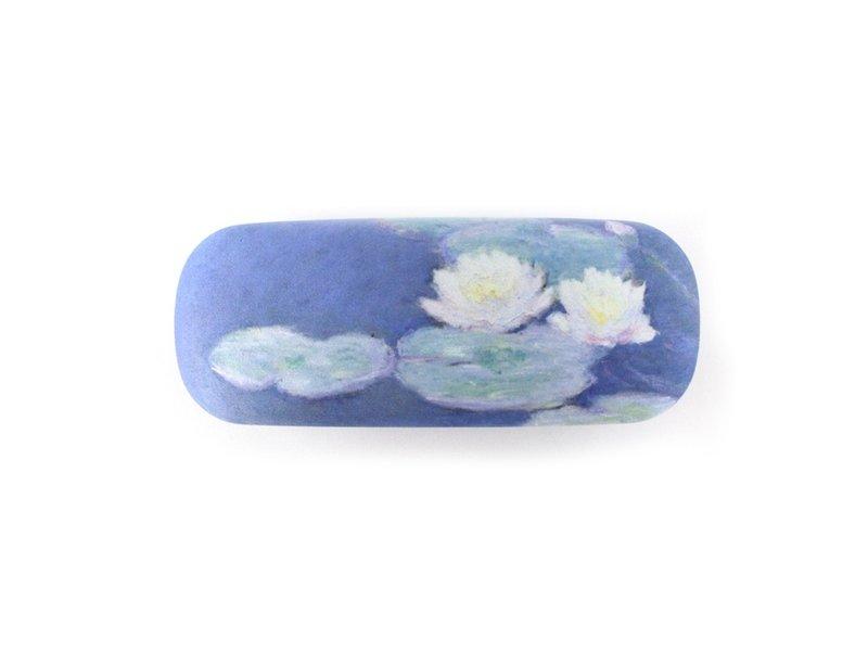 Brillenkoker, Waterlelies bij avondlicht ,Monet