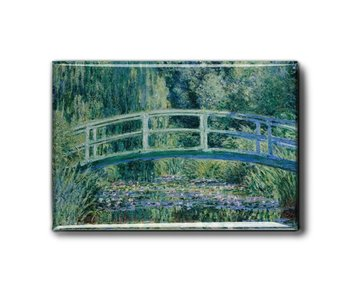 Fridge magnet, bridge, Monet