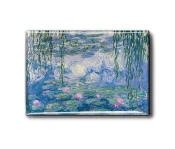 Koelkastmagneet, waterlelies, Monet