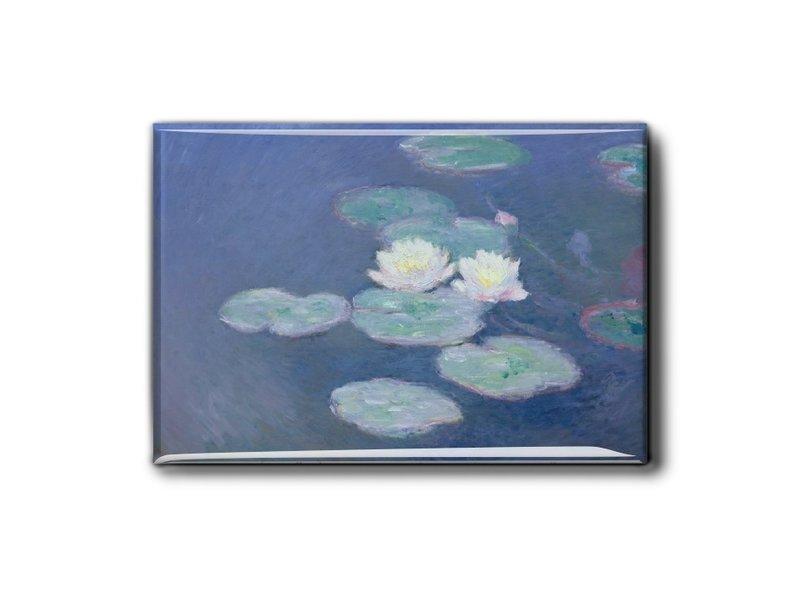 Kühlschrankmagnet, Seerosenabend, Monet