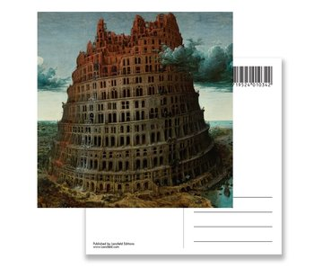 Postcard, Bruegel, Tower of Babel