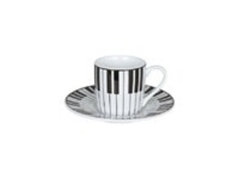 Espresso cup and saucer, Piano