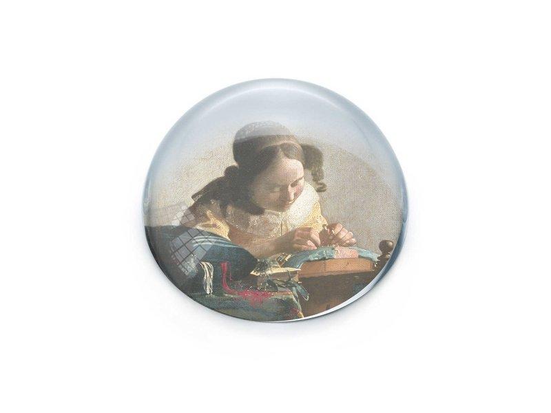 Glaskuppeln, Vermeer, Spitzenmacher