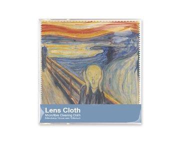 Chiffon à lunette, Munch, le cri, 15x15