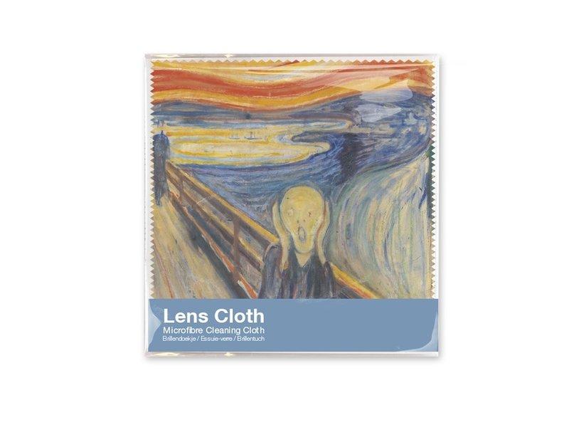Lens cloths W, Munch, The Scream, 15x15
