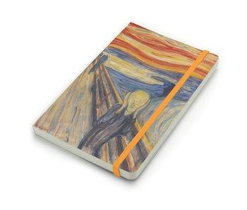 Cuaderno de tapa blanda, A5 W, Munch, el grito