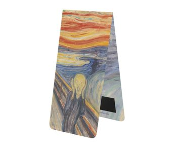 Magnetic Bookmark W, Munch, The Scream