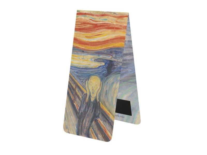 MarcMarcador magnético, Munch, el grito