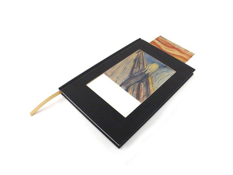 Cuaderno de bocetos de paspartú, Munch, El grito