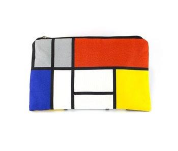 Etui, W, Mondriaan