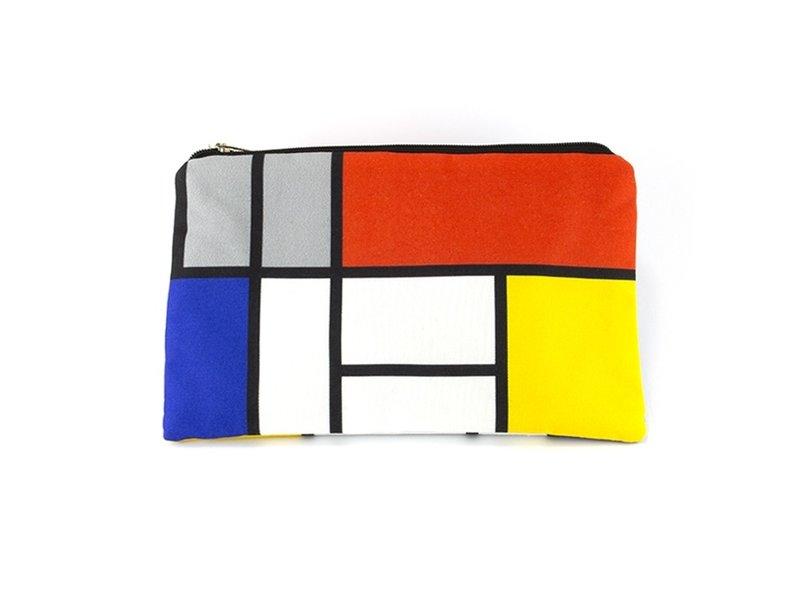 Etui/make-up tasje, Piet Mondriaan
