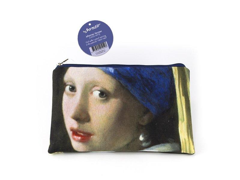 Make-up tasje, Vermeer, Meisje met de parel