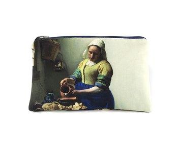Trousse à crayons / trousse de maquillage, La laitière, Johannes Vermeer