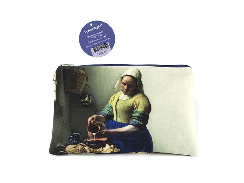 Etui /  Make-uptasje, De melkmeid, Johannes Vermeer
