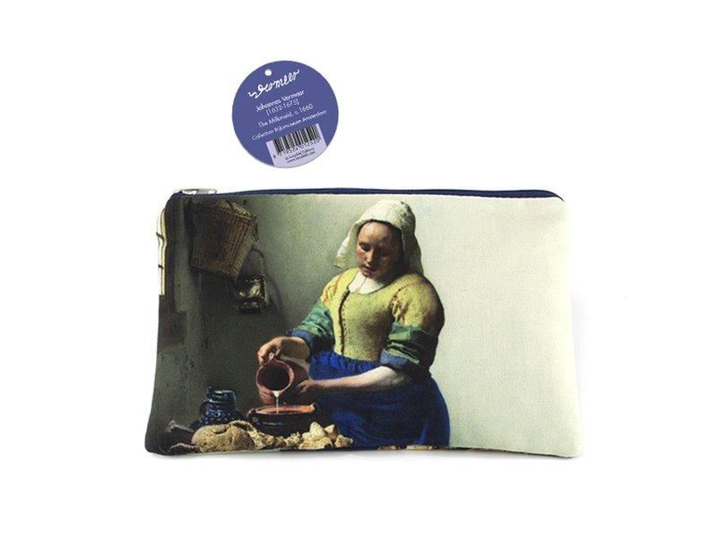 Etui, W, Vermeer, The Milkmaid