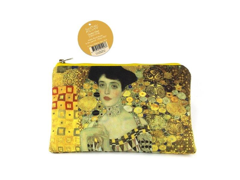 Etui/make-up tasje, Gustav Klimt, Portret van Adèle Bloch-Bauer
