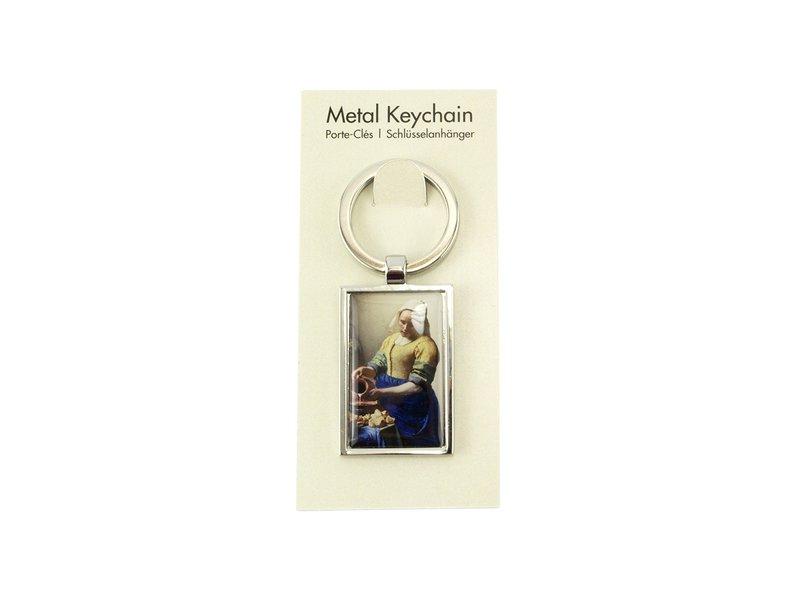 Schlüsselbund RT, silberfarbenes Metall, Milchmädchen Vermeer