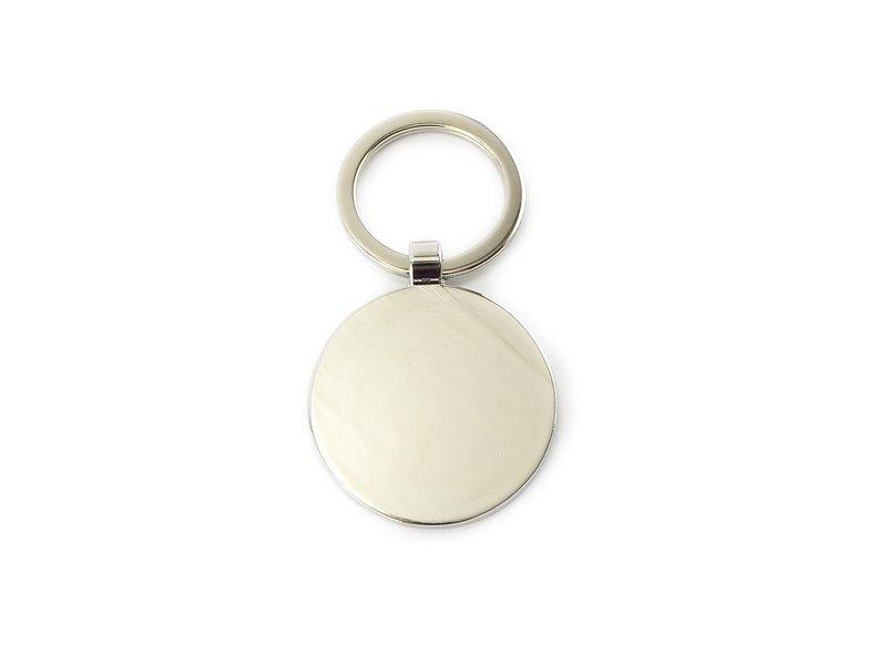 Schlüsselbund RND, silberfarbenes Metall, Milchmädchen Vermeer