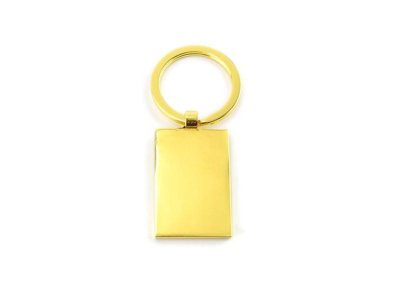Keyring W, Metal gold, RT, Milkmaid Vermeer