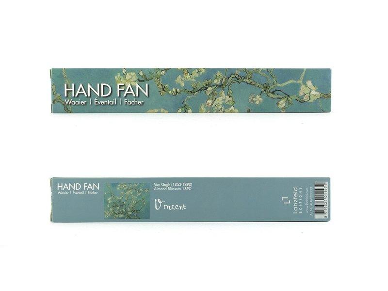Fan, Almond Blossom, Van Gogh