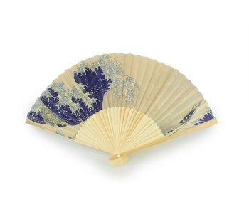 Waaier, De grote golf van Hokusai