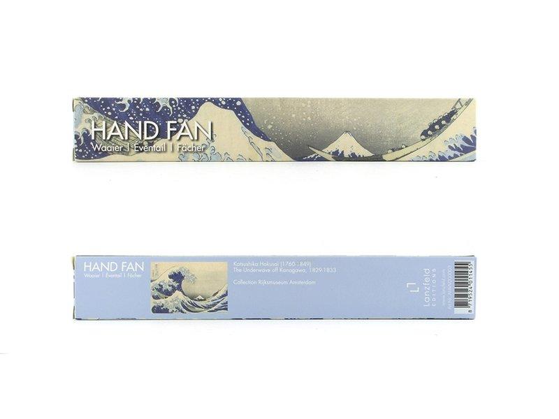 Hand Fan, Hokusai, The Great Wave