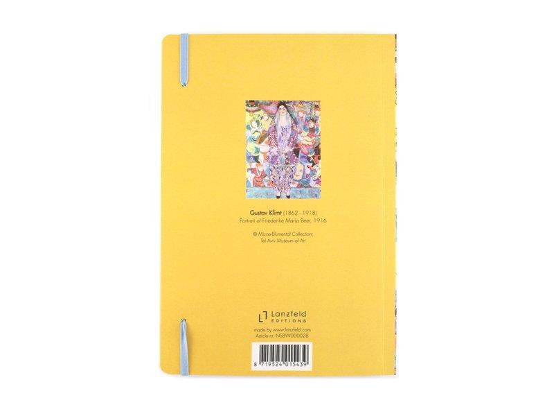 Softcover notitieboekje, A5, KLIMT Beer tel aviv