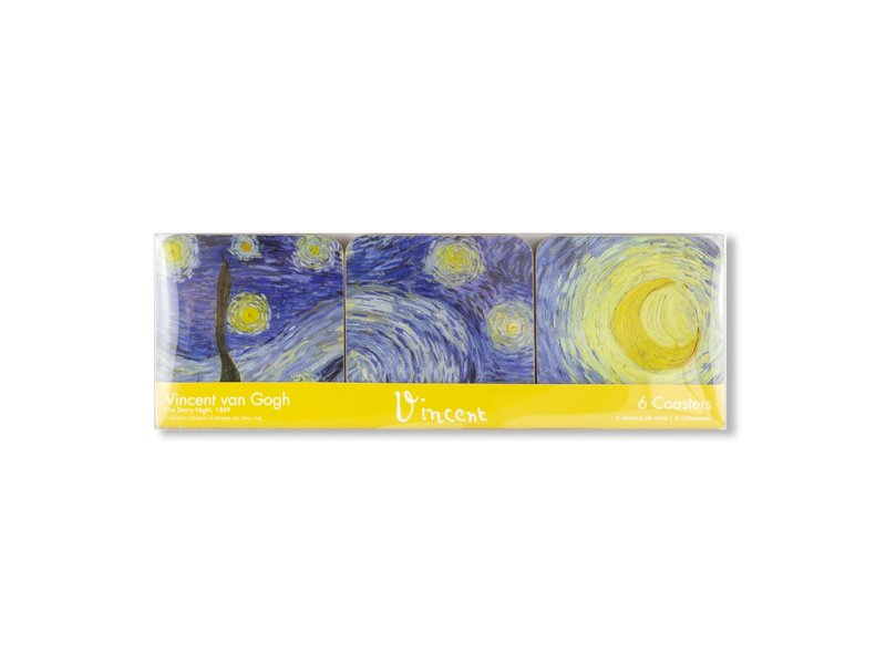 Coasters , Van Gogh, Starry Night