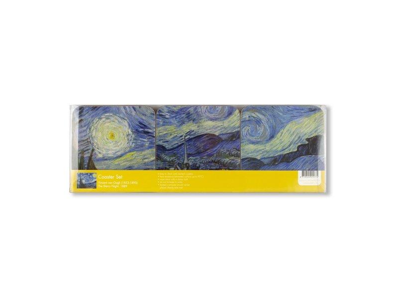 Dessous de verre, Van Gogh, nuit étoilée