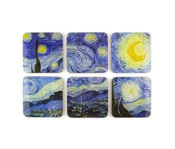 Posavasos, Van Gogh, Noche estrellada