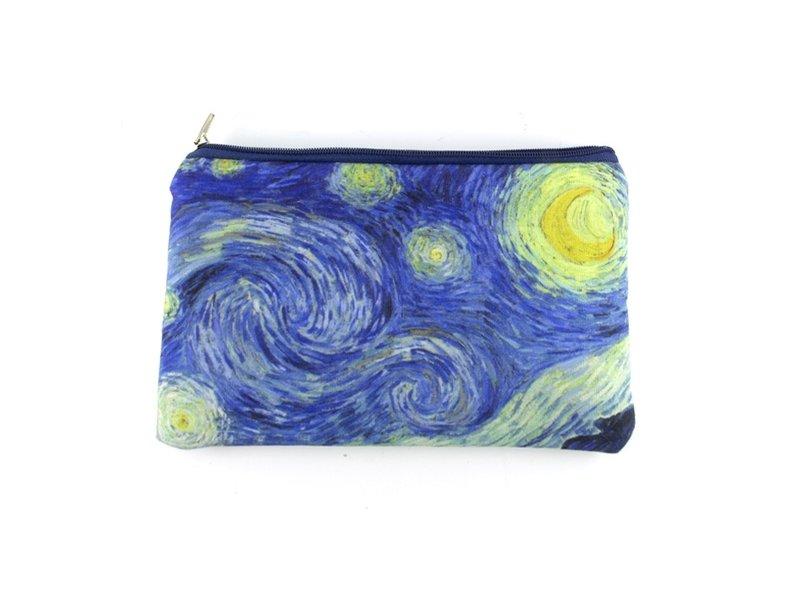 Trousse / Trousse de maquillage,Nuit étoilée, Vincent van Gogh
