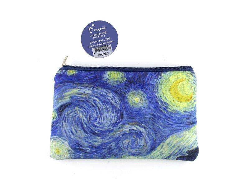 Beutel / Schminktasche, Sternennacht, Vincent van Gogh