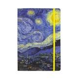 Softcover notitieboekje, A5, Van Gogh, Sterrennacht