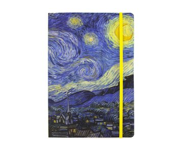 Softcover Book, A5, Van Gogh, Starry Night