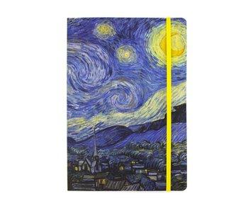 Softcover-Notizbuch, A5, Van Gogh, Sternennacht