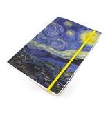 Carnet à couverture souple, A5, Van Gogh, nuit étoilée