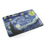 Serviertablett Mini, Van Gogh, Sternennacht