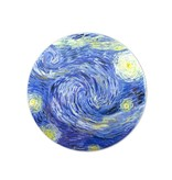 Spiegel groot, Ø 80 mm,Vincent van Gogh, Sterrennacht