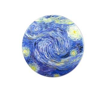 Miroir de poche, Ø 80 mm, Van Gogh,  nuit etoilee