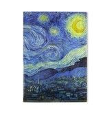 File Sheet W, Van Gogh Starry Night
