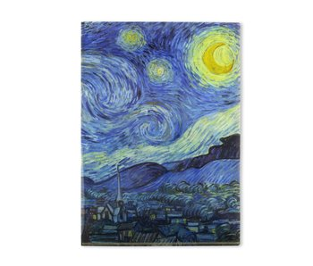File Sheet A4, Van Gogh, Starry Night