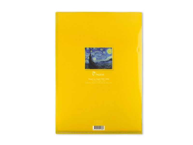 Funda portadocumentos, A4, Noche estrellada, Van Gogh