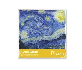 Chiffon à lunettes, Van Gogh, nuit étoilée 15x15