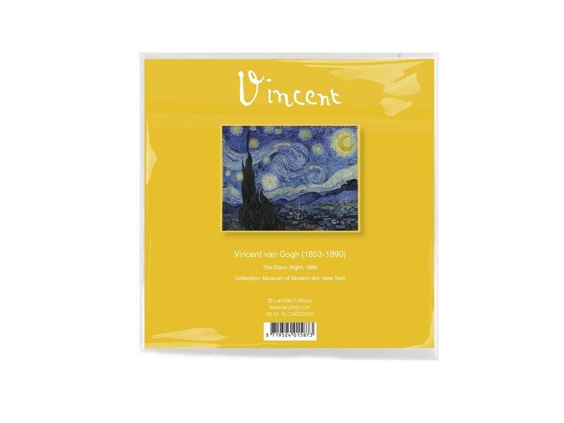 Lens cloth, Van Gogh, Starry night 15x15